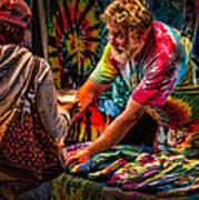 Tie Dye Guy Print by Bob Orsillo