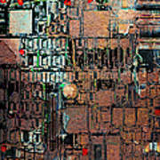 Time For A Motherboard Upgrade 20130716 Square Print by Wingsdomain Art and Photography