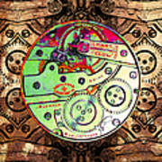 Time Machine 20130606 Square Print by Wingsdomain Art and Photography