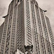 Towering Bw Print by JC Findley