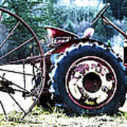 Tractor Hdr Print by Graham Foulkes