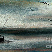 Tranquil Sea Print by R Kyllo