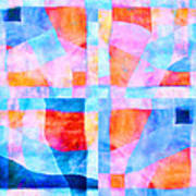 Translucent Quilt Print by Carol Leigh