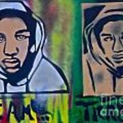 Trayvon Martin Print by Tony B Conscious