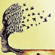 Tree Of Dreams Print by Paulo Zerbato