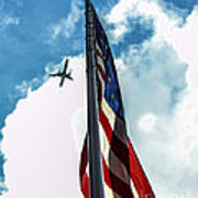 Tribute To The Day America Stood Still Print by Rene Triay Photography
