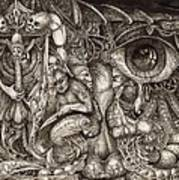 Tripping Through Bogomils Mind Print by Otto Rapp
