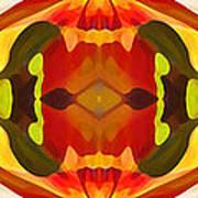 Tropical Leaf Pattern 17 Print by Amy Vangsgard