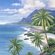 Tropical Paradise 2 Print by John Zaccheo