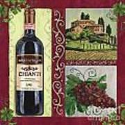 Tuscan Collage 1 Print by Debbie DeWitt
