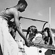 Tuskegee Airmen, C1943 Print by Granger