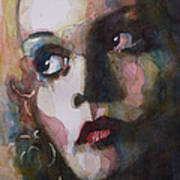 Twiggy Where Do You Go My Lovely Print by Paul Lovering