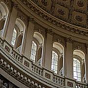 U S Capitol Dome Print by Steve Gadomski
