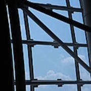 Udvar-hazy Center - Smithsonian National Air And Space Museum Annex - 1212103 Print by DC Photographer