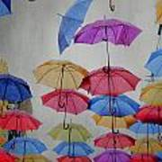 Umbrellas Print by Jelena Jovanovic