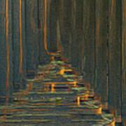 Under The Boardwalk Print by Jack Zulli