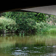 Under The Bridge Print by Ernie Echols