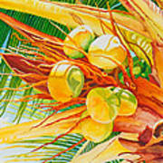 Under The Coconut Palm Print by Janis Grau