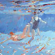 Underwater  Print by Sarah Butterfield