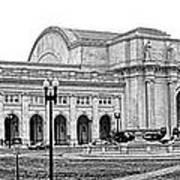 Union Station Washington Dc Print by Olivier Le Queinec