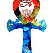 Unity 16 - Spiritual Artwork Print by Sharon Cummings