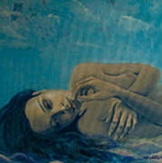 Until Forever Print by Dorina  Costras