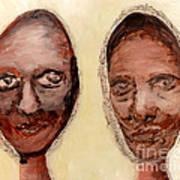 Untitled Two Print by Anna Skaradzinska