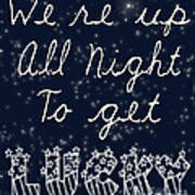 Up All Night Print by Pati Photography