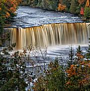Upper Tahquamenon Falls  Print by Todd Bielby