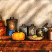 Utensils - Kitchen Still Life Print by Mike Savad