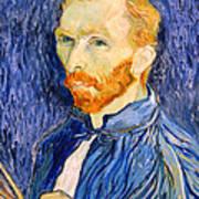 Van Gogh On Van Gogh Print by Cora Wandel