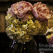 Vase Of Flowers Print by Madeline Ellis