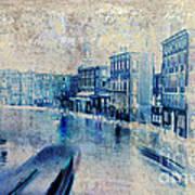 Venice Canal Grande Print by Frank Tschakert