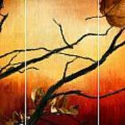 View Of Autumn Print by Lourry Legarde
