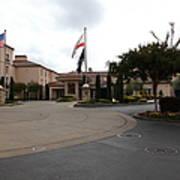Vineyard Creek Hyatt Hotel Santa Rosa California 5d25789 Print by Wingsdomain Art and Photography