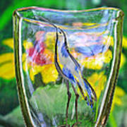 Vinsanchi Glass Art-2 Print by Vin Kitayama
