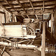 Vintage Barn Finds Print by Cheryl Young