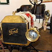 Vintage Ford Model T Racer 5d25613 Print by Wingsdomain Art and Photography