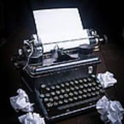 Vintage Manual Typewriter Print by Edward Fielding