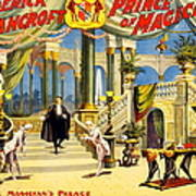 Vintage Nostalgic Poster - 8038 Print by Wingsdomain Art and Photography