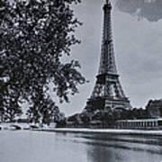 Vintage Paris Print by Georgia Fowler