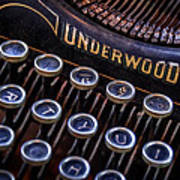 Vintage Typewriter 2 Print by Scott Norris