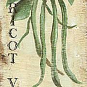 Vintage Vegetables 2 Print by Debbie DeWitt