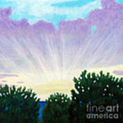 Visionary Sky Print by Brian  Commerford