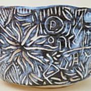 Wabi-sabi Bowl Print by Janpen Sherwood
