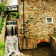 Wagner Grist Mill Print by Paul Ward