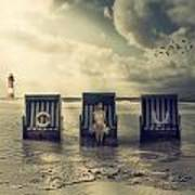 Waiting For The Flood Print by Joana Kruse