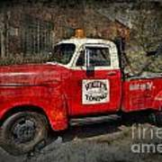 Wally's Towing Print by David Arment