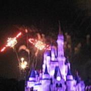Walt Disney World Resort - Magic Kingdom - 121238 Print by DC Photographer
