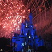 Walt Disney World Resort - Magic Kingdom - 121271 Print by DC Photographer